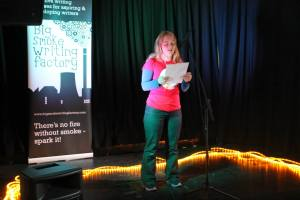 Reading at the Big Smoke Factories National Flash Fiction Day
