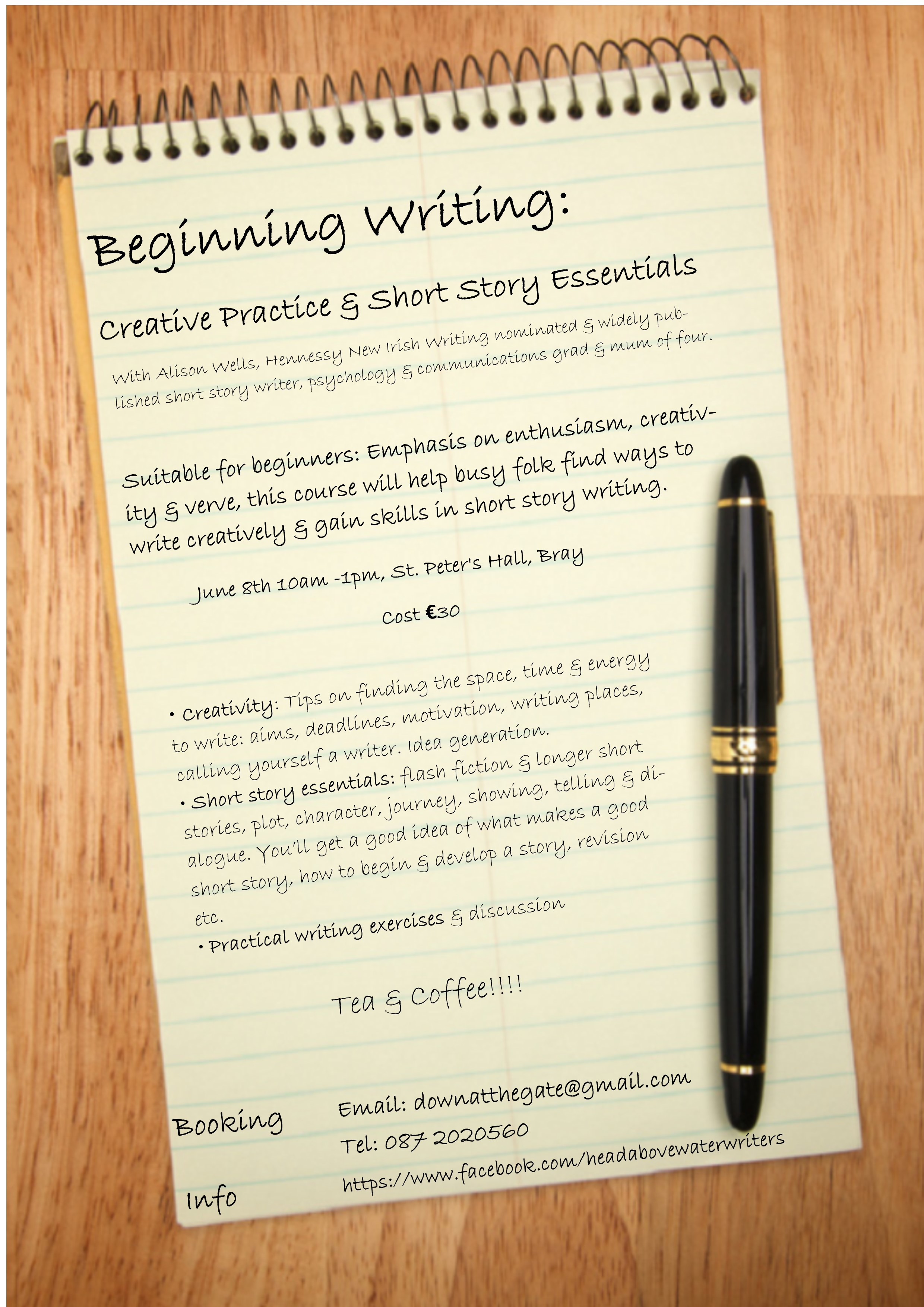 short creative writing courses scotland Our creative writing courses support you in finding your own voice as a writer and gain experience writing in a variety of literary forms.